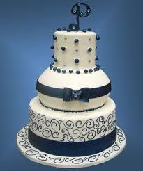 wedding cake royal blue touch of royal blue wedding cake palermo s custom cakes bakery