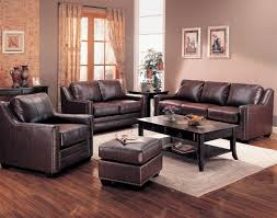 Genuine Leather Living Room Sets Photos Of Living Rooms With Brown Leather Furniture Gopelling Net