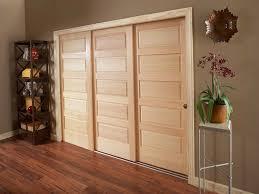 Sliding Closet Door Ideas by Triple Track Sliding Closet Doors Home Design Ideas