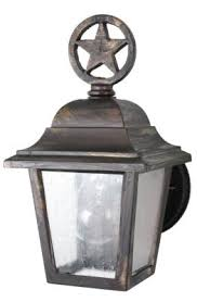 outdoor lighting fixtures san antonio melissa lighting ls1739 outdoor wall mount texas star outdoor
