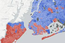 Nytimes Election Map by Did Your Nyc Neighborhood Vote For Donald Trump Or Hillary Clinton