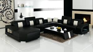 canapé cuir panoramique canape d angle arrondi cuir miami table basse offertei magnifique