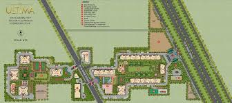 site plan dlf the ultima site plan
