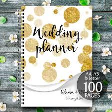 wedding binder gold wedding planner diy wedding binder gold wedding binder