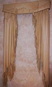 Western Window Valance Fringed Concho Valance Valance And Living Rooms