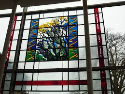 file dna helix and tree of stain glass window jpg wikimedia