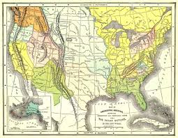 Indian Tribes North America Map by Maps