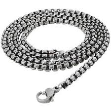 stainless chain link necklace images Stainless steel chains for men tribal hollywood jpg