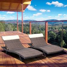 Lounge Patio Chairs Chaise Lounge Patio Set Patio Decoration