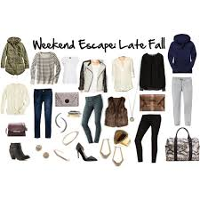 weekend getaway packing late fall the suitcase closet