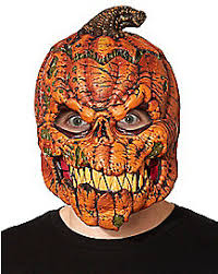 pumpkin mask scary pumpkin mask spirithalloween