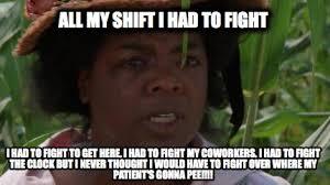Funny Fight Memes - meme maker all my shift i had to fight i had to fight to get