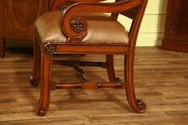 dining chairs compact stylish furniture barrel genuine leather