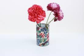 Tin Flower Vases Diy Tin Can Vases