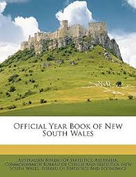 bureau of census and statistics official year book of south wales australia commonwealth