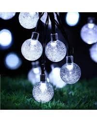 qedertek solar string lights find the best savings on qedertek solar string lights crystal globe