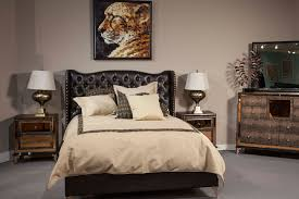Jane Seymour Furniture Collection Hollywood Swank Loft Bedroom By Aico