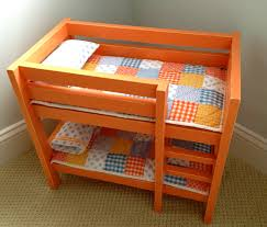 Tangerine Home Decor by That U0027s My Letter Diy Orange Doll Bunk Beds