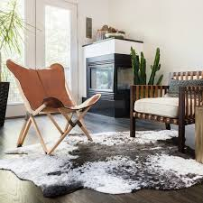B And Q Rugs Rawhide Ivory And Charcoal Rug 5 U0027 X 6 U00276 Free Shipping Today
