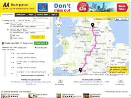 aa road map usa aa route planner finder guide dailymotion stunning aa map uk