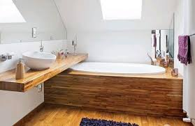 modern bathroom trends wood in bathroom design and decor