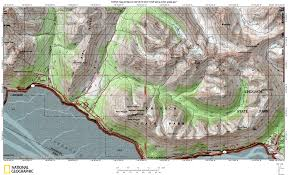 Anchorage Map Recreational Maps Anchorage Avalanche Center Aac