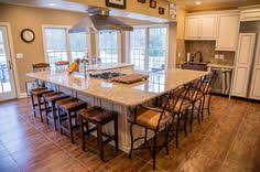 large kitchens with islands island with cabinet access stools also the idea of