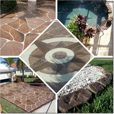 decorative concrete curbing fort myers fl driveway resurfacing