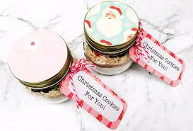 christmas cookie mix in a jar recipe