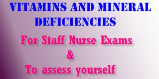 Strauss Heart Drops Vitamins And Mineral Deficiency Symptoms U2013 Nclex Rn Guide