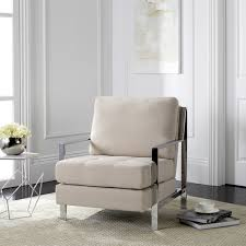 fox6279a accent chairs furniture by safavieh