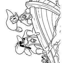 donald duck coloring pages hellokids