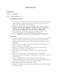 Testing Tools Resume Rajasekar Resume Qa