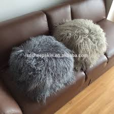 Mongolian Lamb Cushion Fur Pillow Cases Fur Pillow Cases Suppliers And Manufacturers At