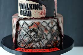 walking dead cake ideas tttc weekly cake and cupcake creations that