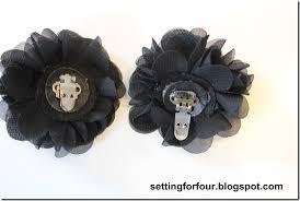 Flower Clips For Hair - diy flower clips for flip flops u0026 sandals setting for four