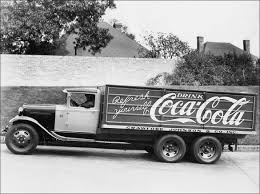 Vintage Ford Truck Body Panels - ford and coca cola the coca cola company