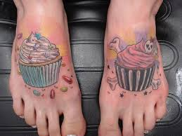 muffin cake with wings tattoo design photo 3 photo pictures