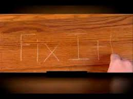 fix it wood commercial as seen on tv