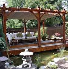 fascinating curtains top lowes pergola and white cushions sofa