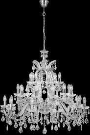 Marie Chandelier Large Marie Therese 30 Light Crystal Chandelier Polished Chrome