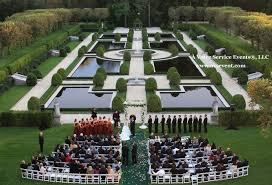 garden wedding venues nj ny and nj wedding planner outdoor wedding platinum castle