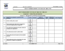Gap Analysis Template Excel Gap Analysis Template Excel