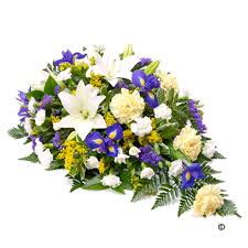 flowers for funeral iris funeral sprays isle of wight flowers florist