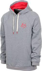 es script hoodie grey heather free shipping