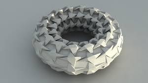 Origami Tessalation - origami tessellation torus origami torus based on tessella flickr