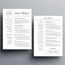 Resume Template For Word 2007 Free Ms Word Resume And Cv Template Collateral Design