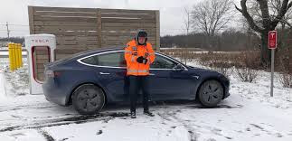 two men set tesla model 3 record by driving cross country for 101