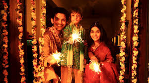 diwali a peculiar custom followed in south india