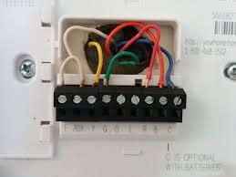 honeywell thermostat wire colors dolgular com